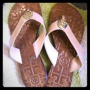 Tory Butch Thora Flat Thong Sandals